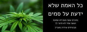 האמת על הסמים - הרצאה מצילת חיים